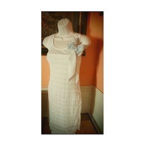 Women's cream color dress
